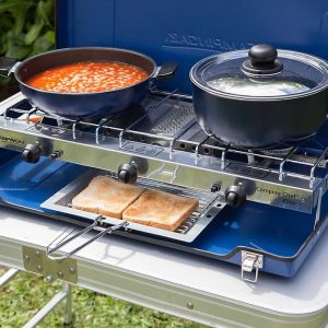Campingaz Chef Folding Double Burner