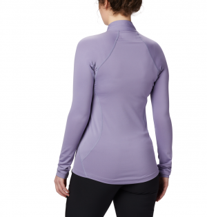Columbia Women's Midweight Stretch Baselayer Long Sleeve Half Zip