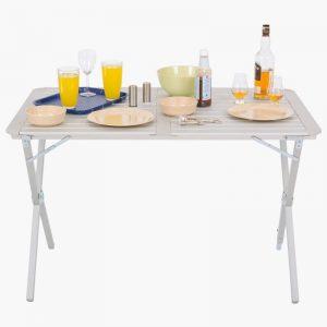 Highlander Aluminium Slat Folding Table