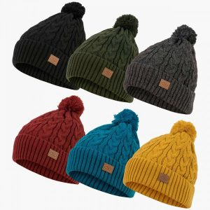 Highlander Beira Fleece Lined Bobble Hat