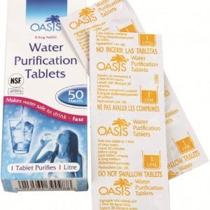 Oasis Water purification Tablet