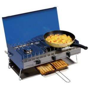 Campingaz Chef Double Burner with Grill