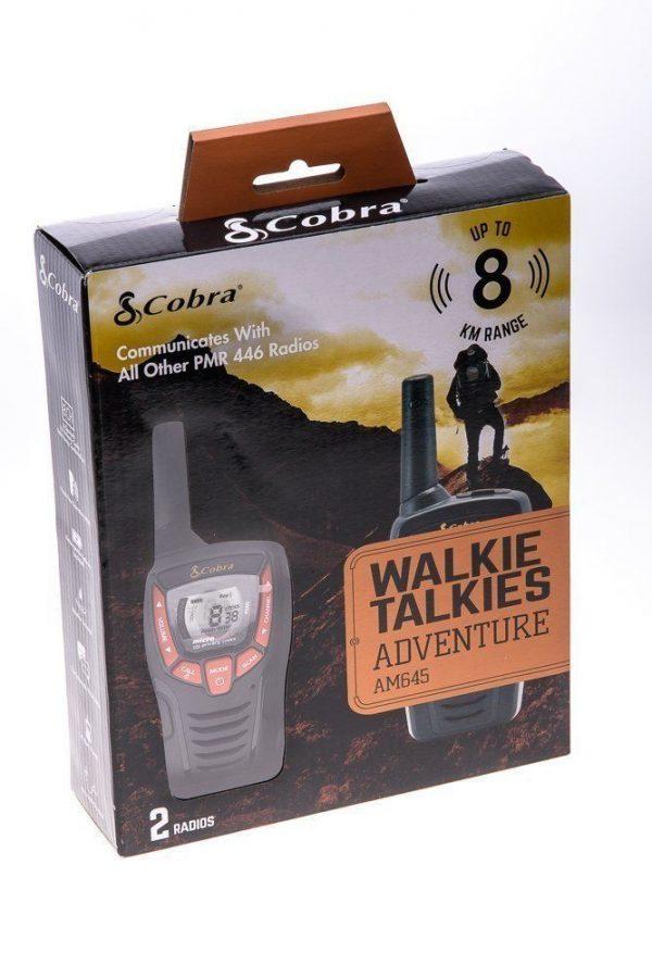 Cobra Adventure 8km 2-way Walkie Talkie