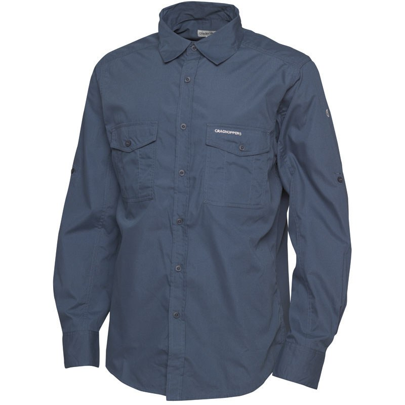 Craghoppers Mens Kiwi Long-Sleeved Shirt
