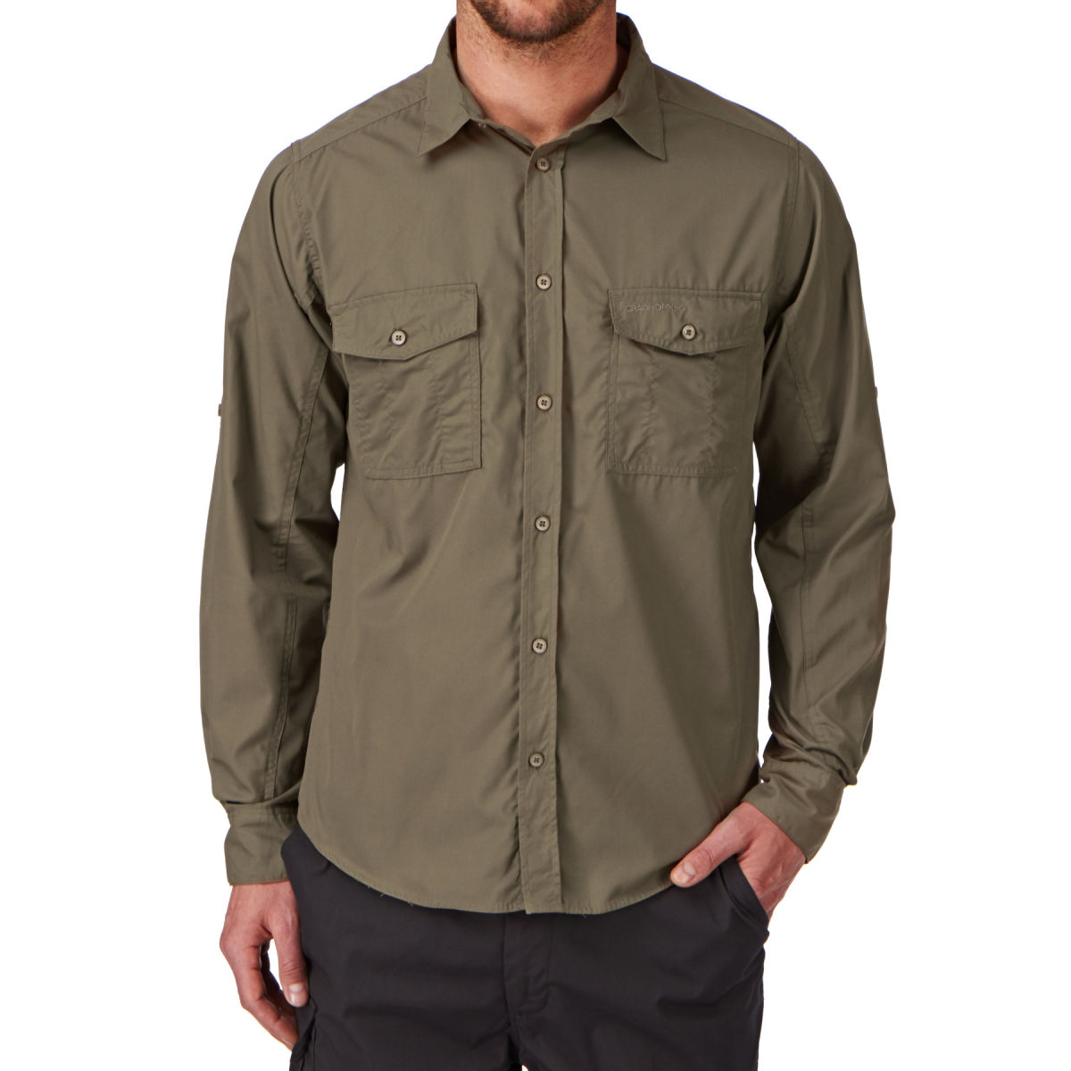 Craghoppers Mens Kiwi Long-Sleeved Shirt