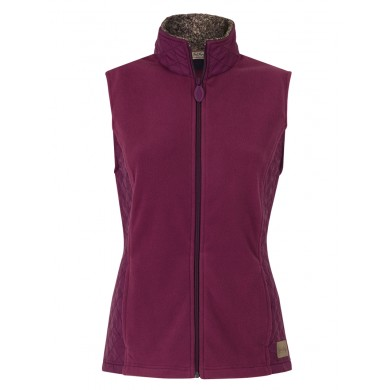 Jack Murphy Betty Quilt & Fleece Gilet