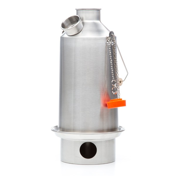 Kelly Kettle 'Base' Stainless Steel 1.6 ltr