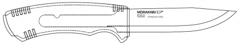 Mora Bushcraft Black SRT