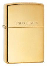Zippo High Polish Brass