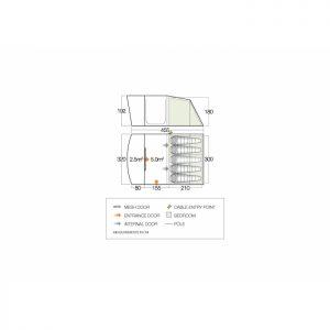 Vango Padstow Package 500 Tent/Carpet/Footprint