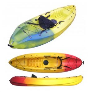 "Winner Velocity Single ""Sit-on"" Kayak"