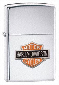Zippo Harley Davidson Logo-Colour