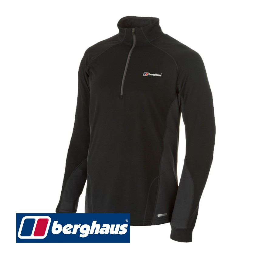 Berghaus Active Thermal Long Sleeve Zip Neck Top