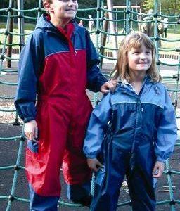 Waterproof Kids Bubble Suit