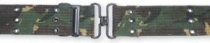 Camo Cotton Pistol Belt