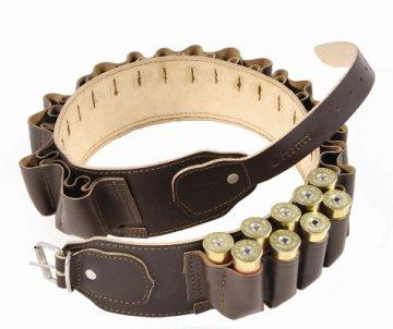 Bisley Double Leather Cartridge Belt