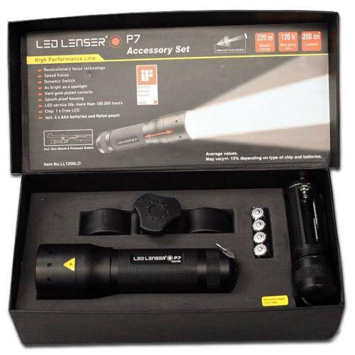 LED Lenser P7.2 Torch Gun Mount Kit