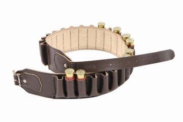 Bisley Brown Leather Cartridge Belt