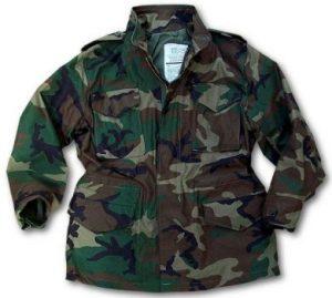 Camo M65 Field Jacket