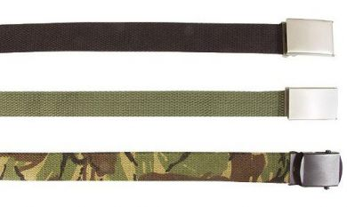 US Military Belts