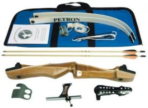 Petron S1 Wood Take Down Bow- Kit