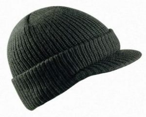 Ski Cap with Peak
